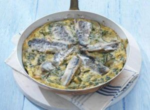 Frittata met sardientjes - Een gerecht van John West