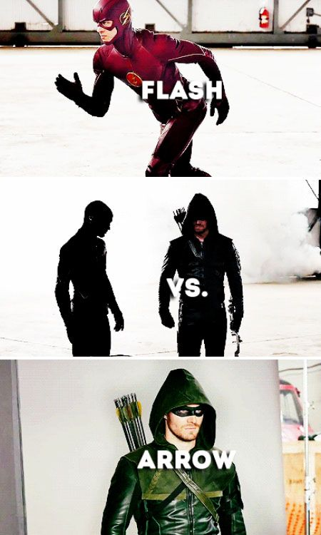 Arrow vs The Flash SO READY FOR THIS EPISODE