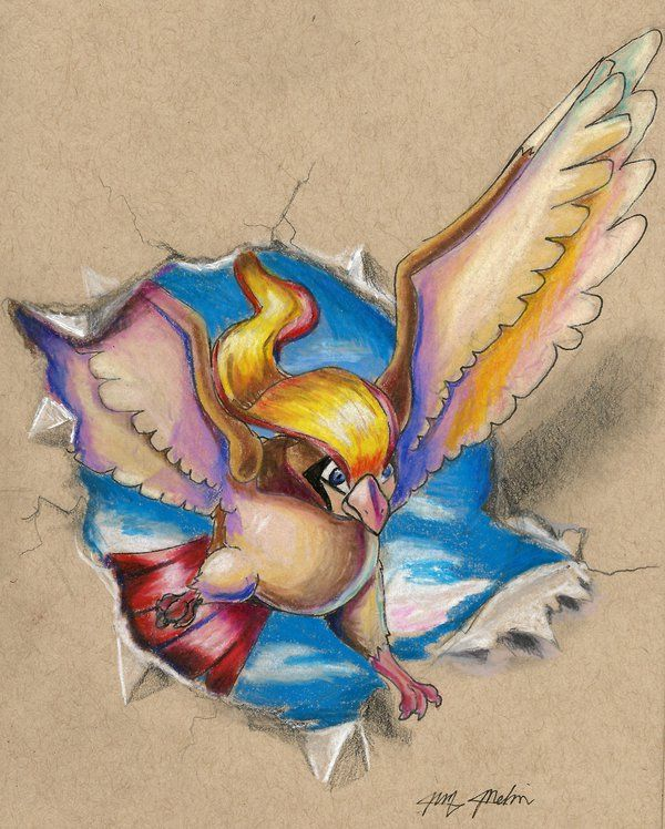 My favorite flying type is Pidgeot! Had to go with a classic on this one. Pidgeot is just...graceful and stuff Enjoy!