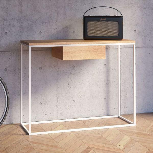Console Avec Tiroir En 2020 Console Design Table De Salon Design Et Table Basse Style Scandinave