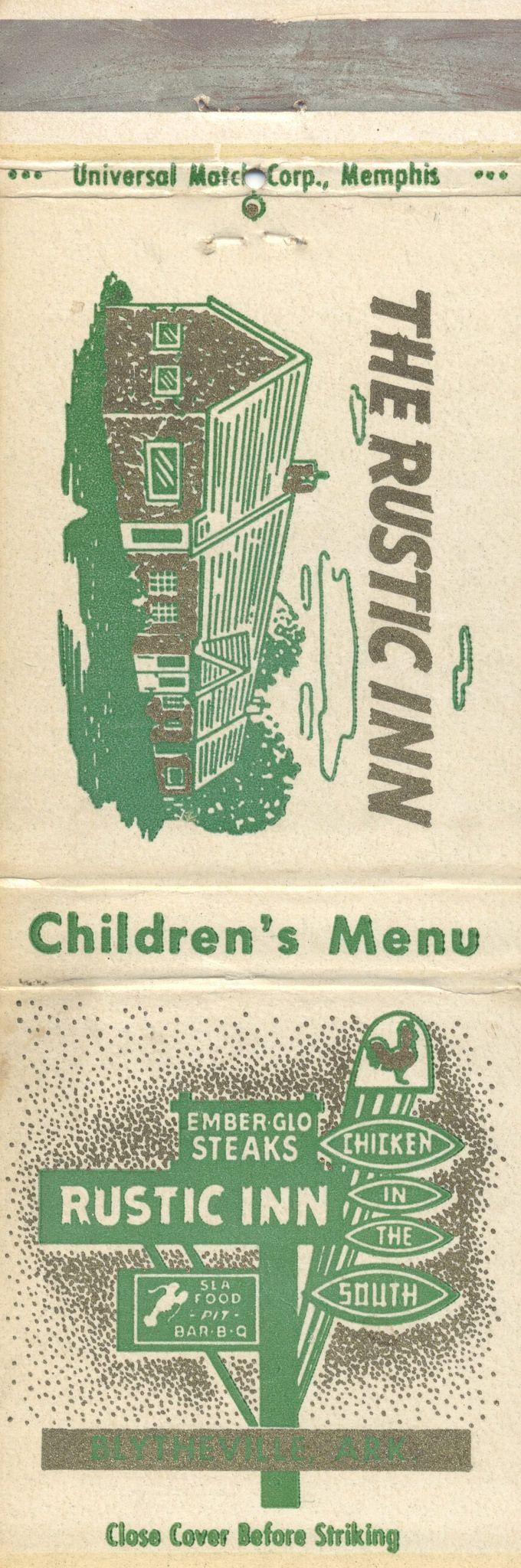 https://flic.kr/p/Le8KAX | The Rustic Inn - Blytheville, Arkansas | Chicken in…
