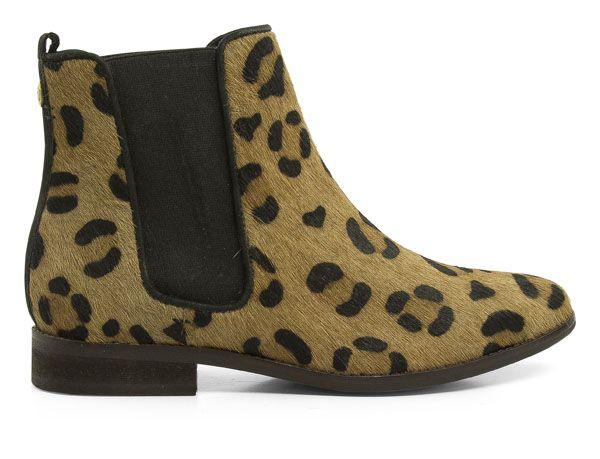 MARUTI Passoa, chelsea boot style, cheetah