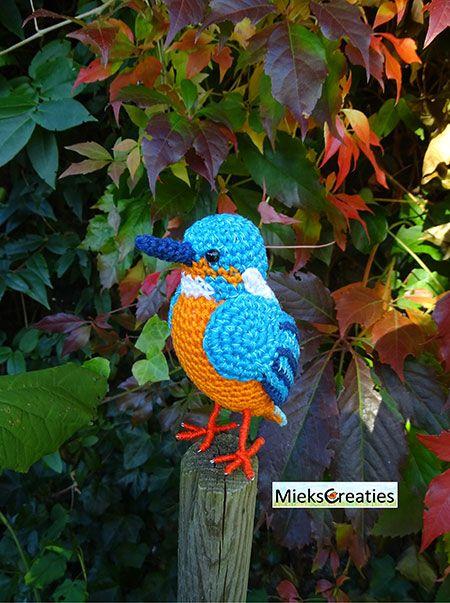 The Kingfisher Amigurumi Pattern