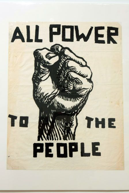 All Power...(Emory Douglas - The Black Panthers)