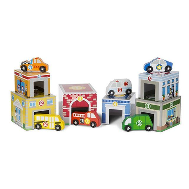 Nesting and stacking blocks are so yesterday.  This set of boxes has doors and matching numbered vehicles to roll inside.....and they are nesting and stacking too. #towtruck #bus #firetruck #recycle #police #ambulance http://ift.tt/1t2cZNf  #lucaslovescars #woodentoys #shoponline #toddler #gift #giftideas #childhoodmemories#childhoodunplugged#childhood #playandlearn#toddlerplay#toddleractivities#toddleractivity #toysforboys #dad #mum #dadlife #mumslife #mylittleman #tdpgraduate…