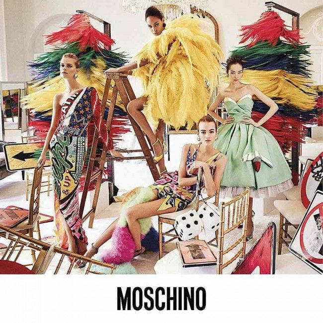 Moschino Spring Summer 2016