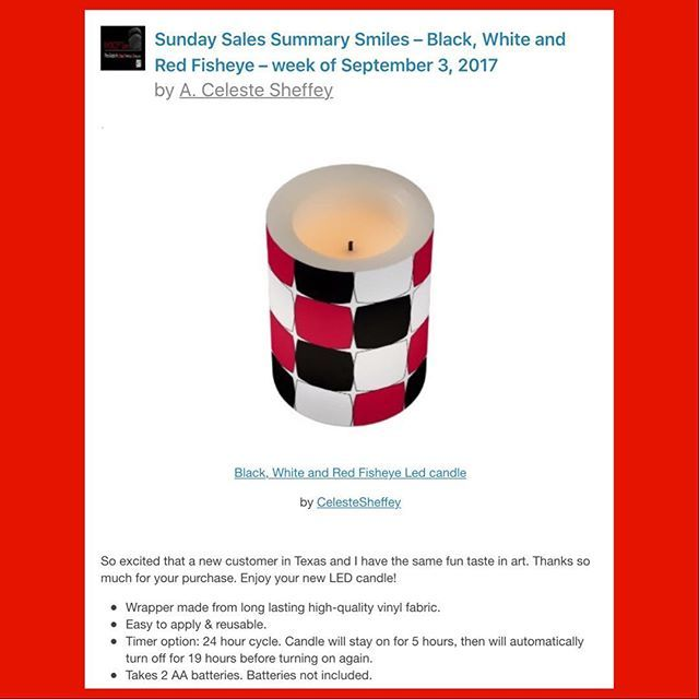 Sunday Sales Smiles from my one of my Zazzle shops. Thank You!😊 #blackwhiteandred #graphicdesign #fisheye #ledlights #artkhoncepts #artistsoninstagram #quirky