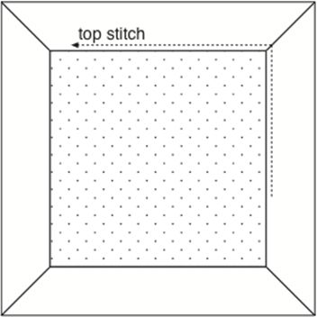 mitered corners sewing instructions