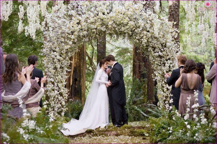 """Una boda al estilo de la saga """"Crepúsculo"""""""