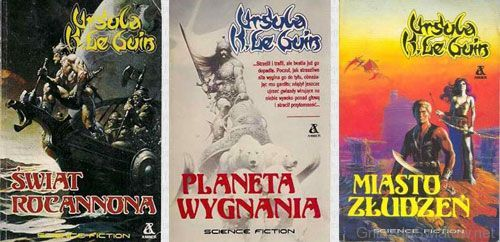 The Hainish Cycle by Ursula K. Le Guin: Rocannon's World, Planet of Exile, and City of Illusions