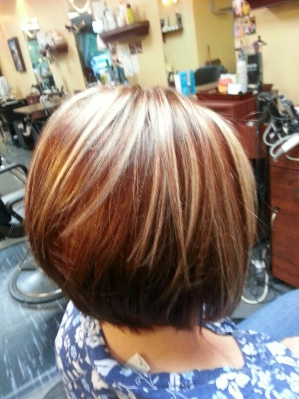 Cinnamon Base With Creamy Blonde Highlights And Chocolate Lowlights By My Own Hand Pinterest