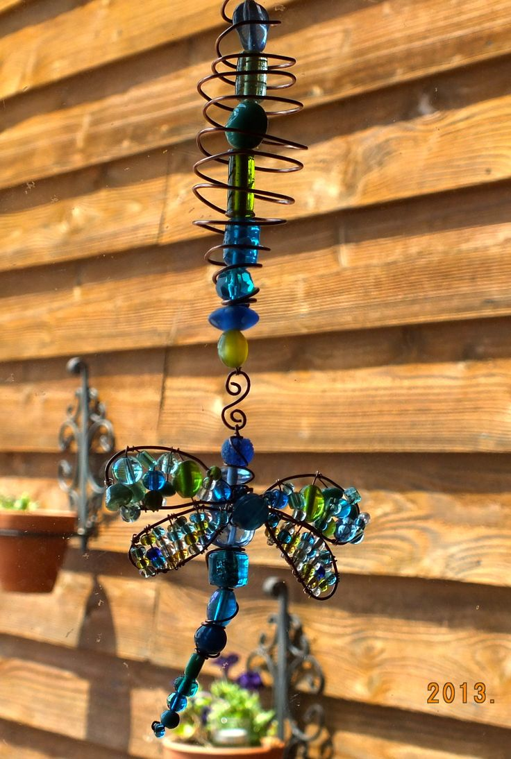 dragon fly sun catcher..just twisted..by Julie