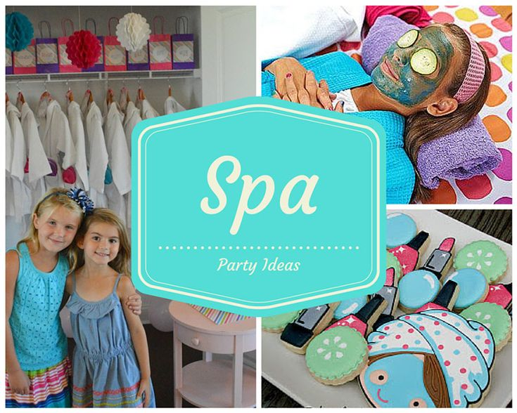 4 Year Old Spa Birthday Party