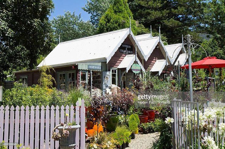 Small stores at the Foxglove Spire Gardens in Tilba Tilba