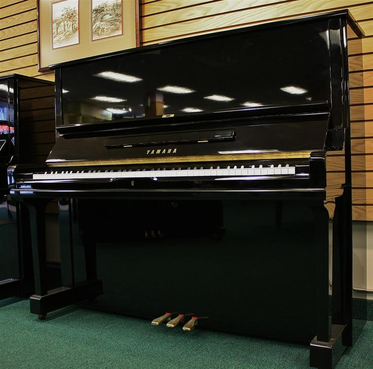 Upright Pianos : Yamaha U3 Studio Upright Piano 52"