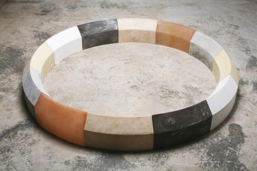 Rhythm - cast iron, polyurethane resin, fiberglass, plaster, beeswax, concrete | Sculpture | Jeff Menzies
