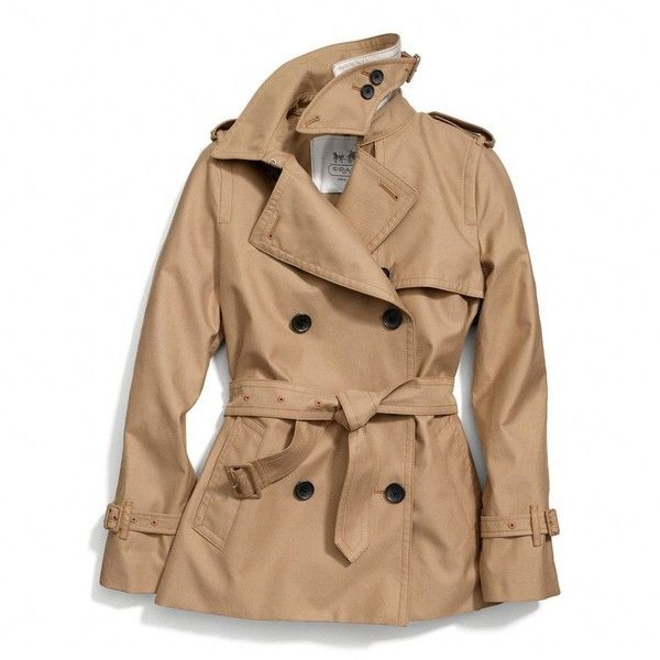 Coach Classic Short Trench. Exactly what I need for spring