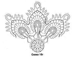 Crochet snowflake chart idea