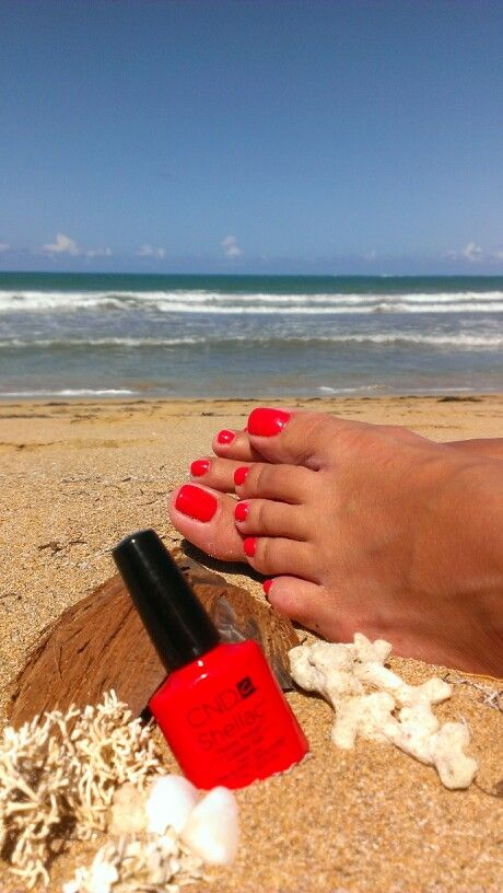 CND Shellac Lobster Roll!                                                                                                                                                                                 More