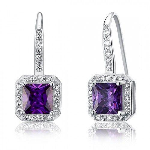 Cercei Lady Purple Argint 925 http://www.borealy.ro/bijuterii/cercei/cercei-lady-purple-925-sterling-silver.html