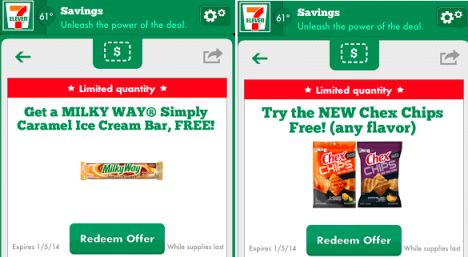 7ELEVEN FREE Milky Way Ice Cream Bar and FREE Chex