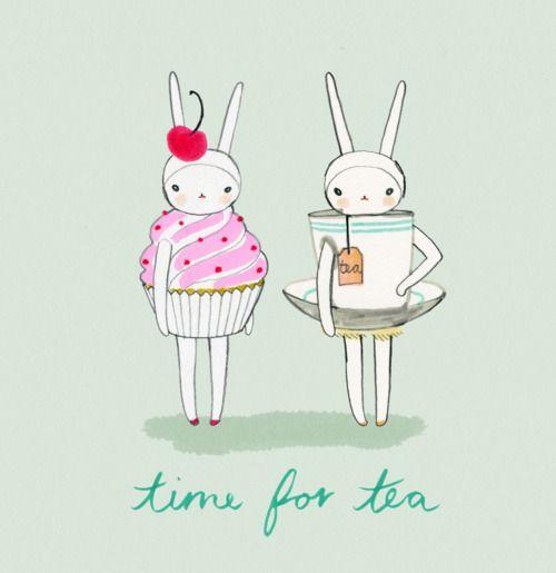 Fifi Lapin. Time for tea x