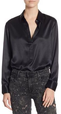 Alexander Wang Long Sleeve Blouse Bodysuit