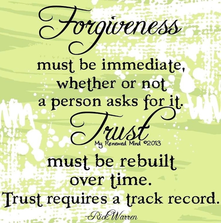 and trust quotes via