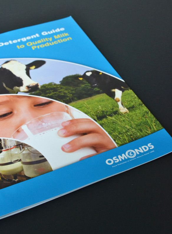 A clear and precise guide for Osmonds's detergents for quality milk production. www.akgraphics.ie