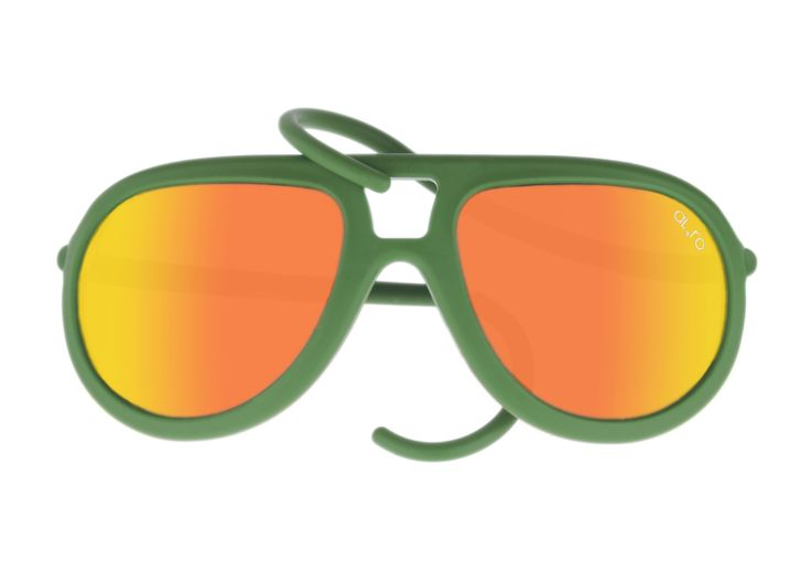 DROP - Military Green with Orange Lenses