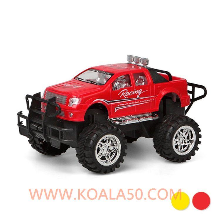 Coche Todoterreno Racing - 4,53 €  ¡Si buscas coches de juguete para regalar, te presentamoselcoche todoterreno Racing!Fabricado en plásticoMedidas aprox.: 24x 12x 14,5 cmEdad recomendada: +3...  http://www.koala50.com/regalos-para-ninos/coche-todoterreno-racing