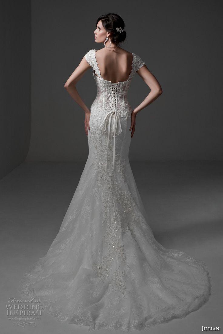 Long sleeve plus size wedding dress   best Lace Wedding Dresses images on Pinterest  Wedding dressses