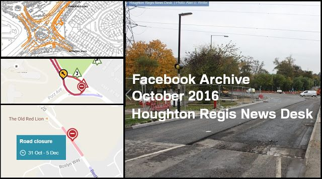 Houghton Regis News Desk: Facebook Archive