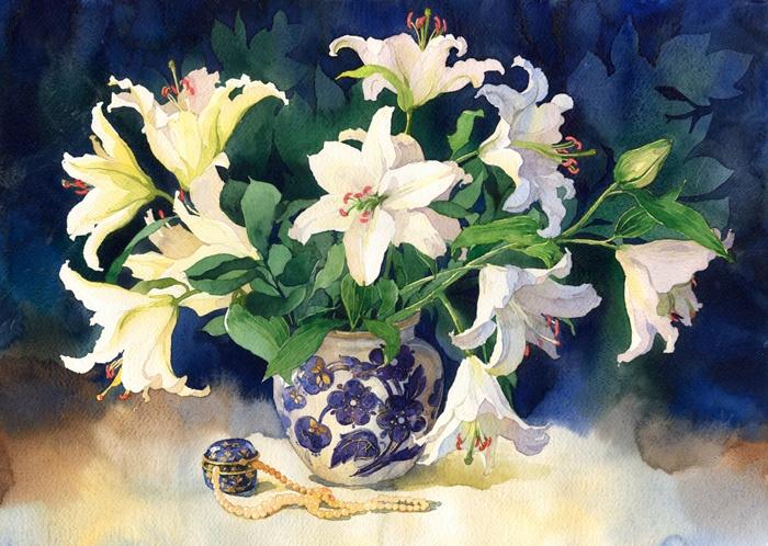 Polina Kukulieva - lily