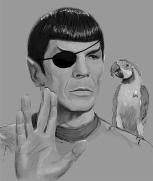 Pirate Spock!