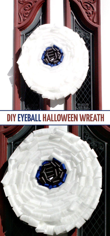 make this friendly halloween wreath