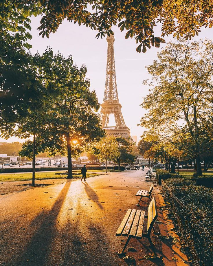 Paris.  We've been right there, sat on those very same benches.