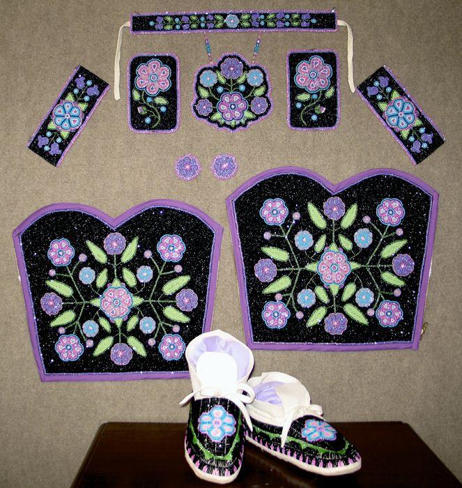 Iroquois Beadwork Designs   KQ Designs - Native American Beadwork, Powwow Regalia, and Beaded ...
