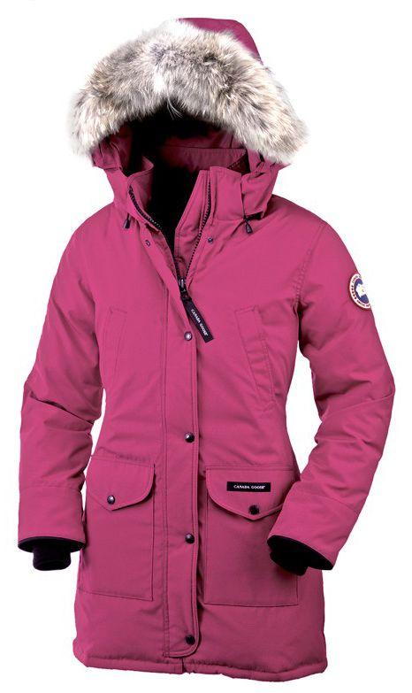 Goose Trillium Parka Pink Womens