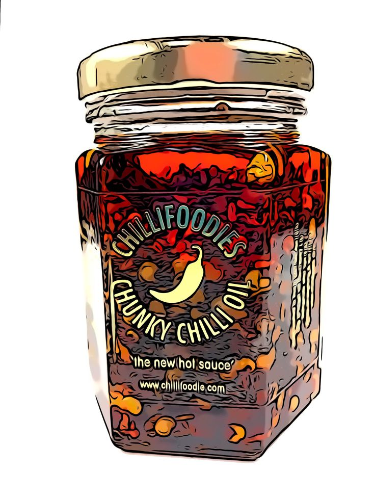 Chillifoodies chunky chilli oil