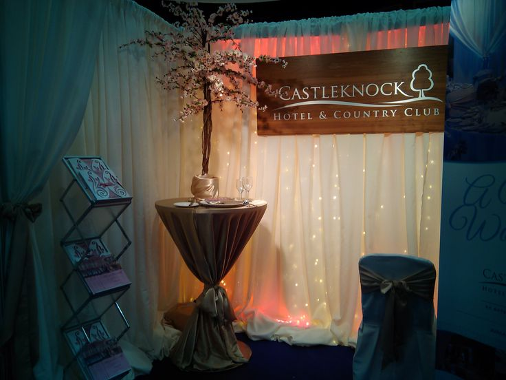 Citywest Wedding fair stand. Jan 15'
