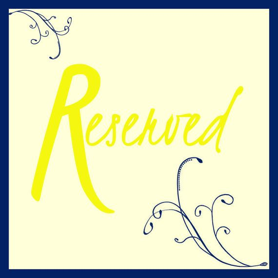 Reserved.. 5x5 printable sign by GoToGirlSignDesigns on Etsy, $10.00