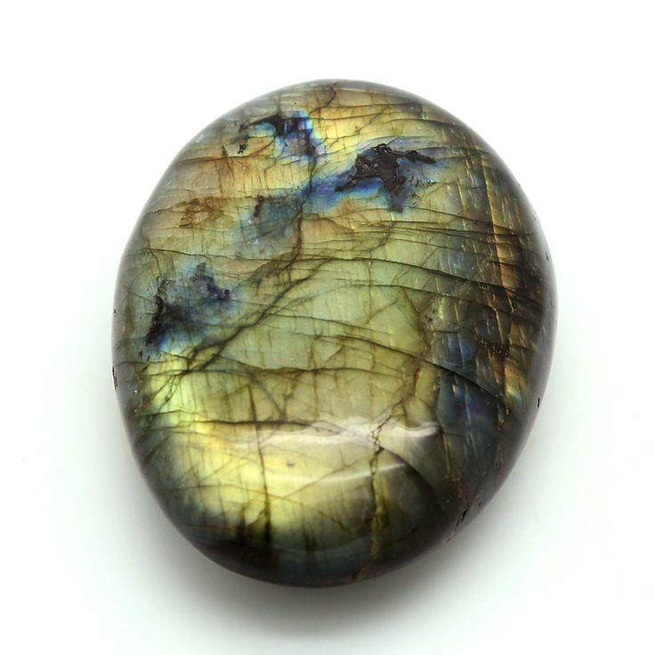 Natural Polished Labradorite Stone - 201g