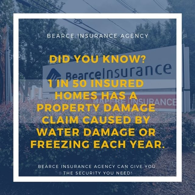 Dyk 1 In 50 Insured Homes Has A Property Damage Claim Caused By Water Damage Or Freezing Each Year Insu Insurance Agency Business Insurance Insurance Humor