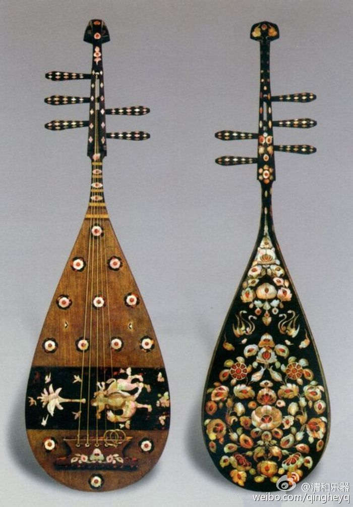 1.1 Chinese Stringed Musical Instrument Guitar Lute Pipa http://www.interactchina.com/servlet/the-Musical-Instruments-cln-Hulusi/Categories#.VJT0qV4AAY