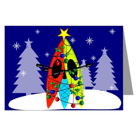 89 best kayaking gifts images on pinterest for Best personalized christmas cards