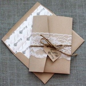Glue zip top bag of spice inside with instructions on flap? Could wrap in paper doily rather than lace.