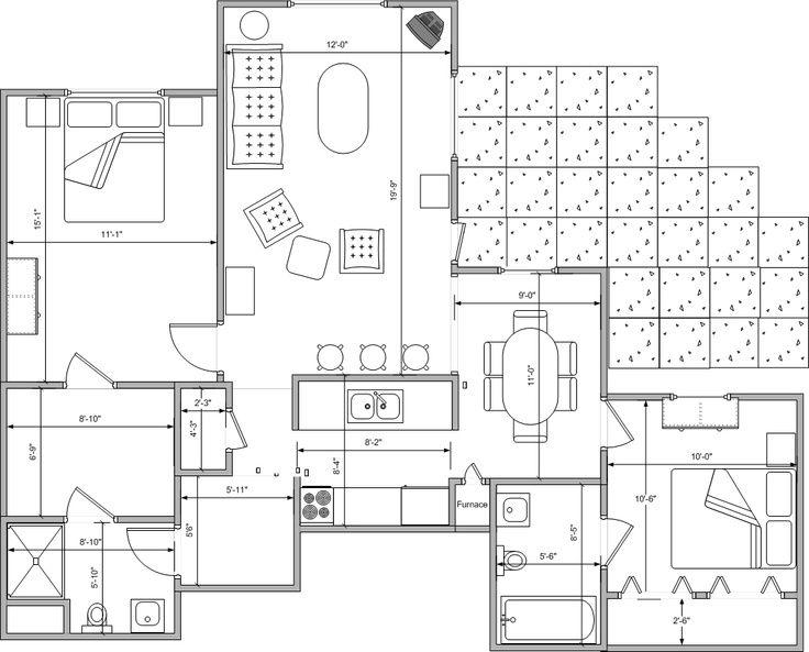 85 best Underground home plans images – Underground Homes Floor Plans