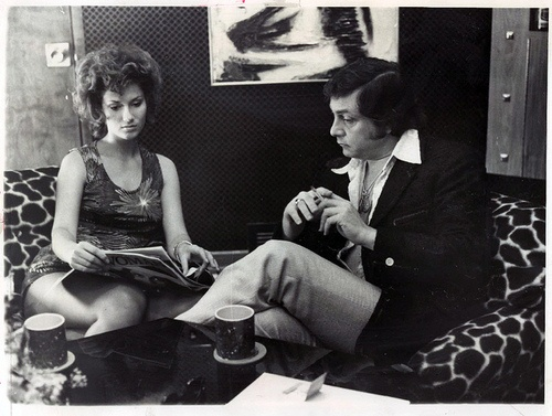Bob Guccione in the Seventies-This is my cousin or something i dont really know what he is to me but were related