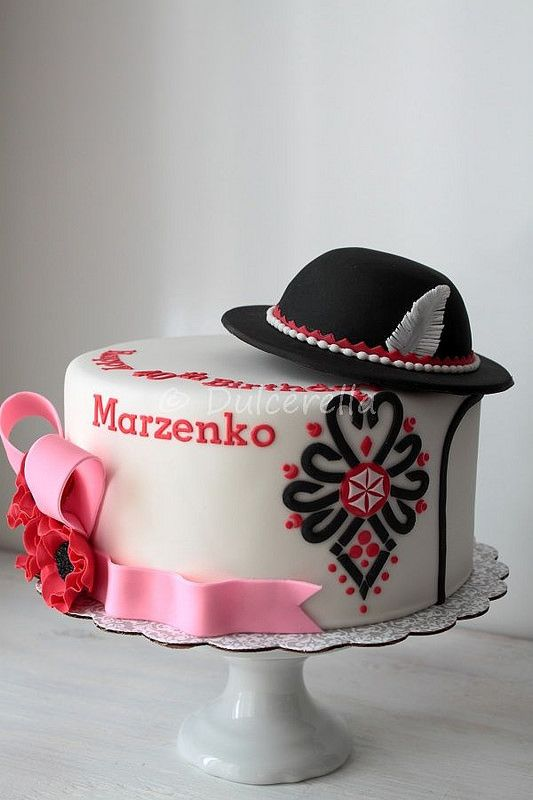 Polish Highlander Cake with hat